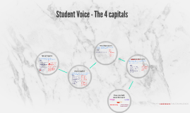 Student Voice - The 4 capitals