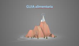 GUIA ALIMENTARIA