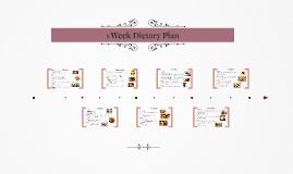 1 Week Dietary Plan