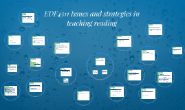 EDF4511 Issues and strategies in teaching reading