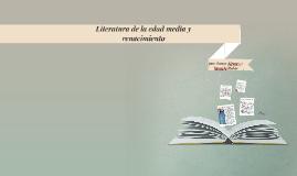 Literatura de la edad media y renacimiento