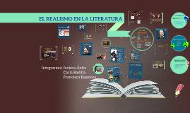 EL REALISMO EN LA LITERATIRA
