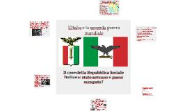 L'Italia e la seconda guerra mondiale
