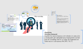 Diseño de método de selección y evaluación por competencias