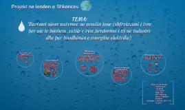 Burimet ujore natyrore ne vendin tone (shfrytezimi i tyre p