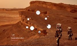 Emmigration to Mars