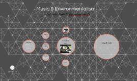 Music & Environmentalism