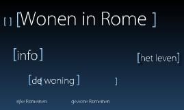 Wonen in Rome