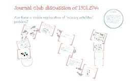 Journal club 1301.2744