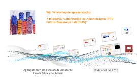 W0 - Workshop Escola Básica do Marão