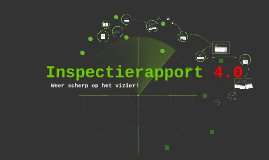 Inspectierapport 4.0