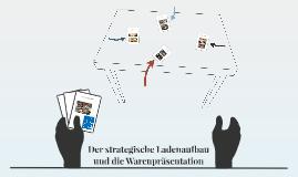 Der strategische Ladenaufbau und die Warenpräsentation