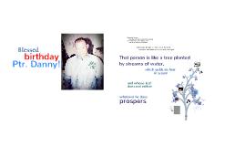 PD's birthday