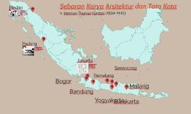 Sebaran Karya Karsten di Indonesia