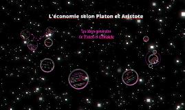 Platon et Aristote, pensée économique