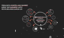 MIROBIOLOGIA EN EL MEXICO PREHISPANICO