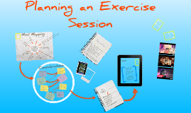 Planning an Exercise Session