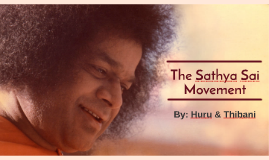 The Sathya Sai Movement