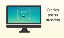Herramientas wix.com