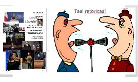 Taal retoricaal