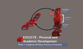 110YW - Progress and Structure