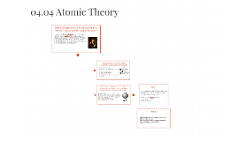 04.04 Atomic Theory