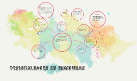 Copy of Desigualdades en Honduras