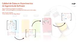 180-Calidad de Datos en Experimentos de Ingeniería de Software
