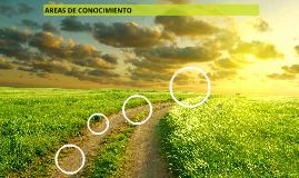 AREAS DE CONOCIMIENTO