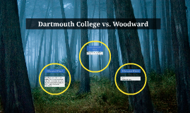 dartmouth vs woodward Dartmouth college won securing the authority of the federal government over states.