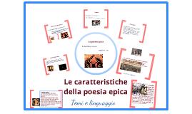 Copy of La poesia epica