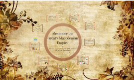 Alexander the Great's Macedonian Empire
