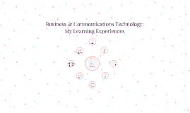 Business & Communications Technology: My Learning