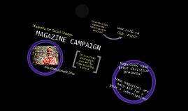 Magazine Campaign 2011
