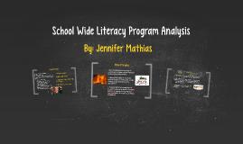 Copy of School Wide Literacy Program Analysis