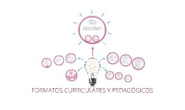 Copy of FORMATOS PEDAGÓGICOS - CURRICULARES
