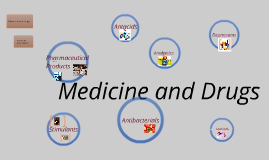Copy of Medicine and Drugs