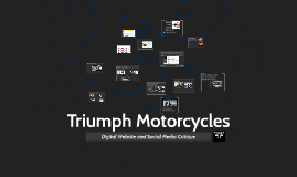 Copy of Triumph Motorcycles