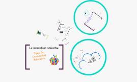 Copy of La escuela y la comunidad, espacios sociales interrelacionados
