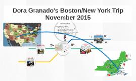 Copy of Copy of Dora Granado's Boston/New York Trip November 15