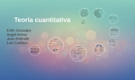 Teoría cuantitativa