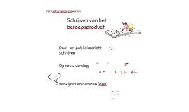 Schrijven van BP 1.2