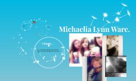Michaelia Lynn Ware.