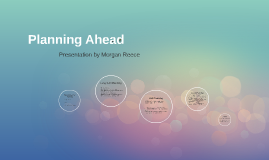 Copy of Planning Ahead