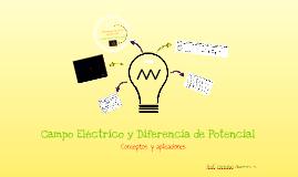 Campo Eléctrico y diferencia de Potencial