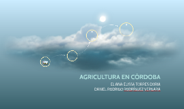 AGRICULTURA EN CÓRDOBA