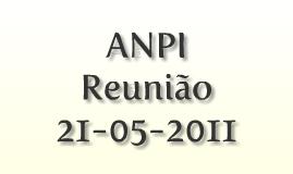Reunião 21-05-2011