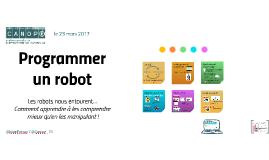 Programmer un robot #2