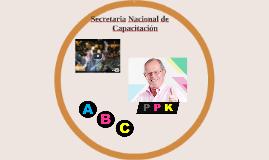 Secretaria Nacional de Capacitación