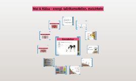 Copy of Mat & Hälsa - energi, tallriksmodellen, matcirkeln
